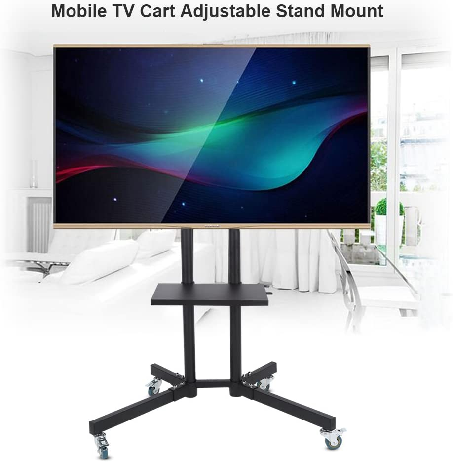 Adjustable Universal TV Stand Table Top Mount Base LCD Flat Screen 32-65inch