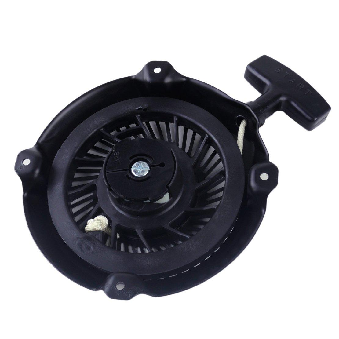 D/éclencheur de traction /à rappel pour Briggs /& Stratton Intek Pro 5.5hp et moteurs 6.5hp noir