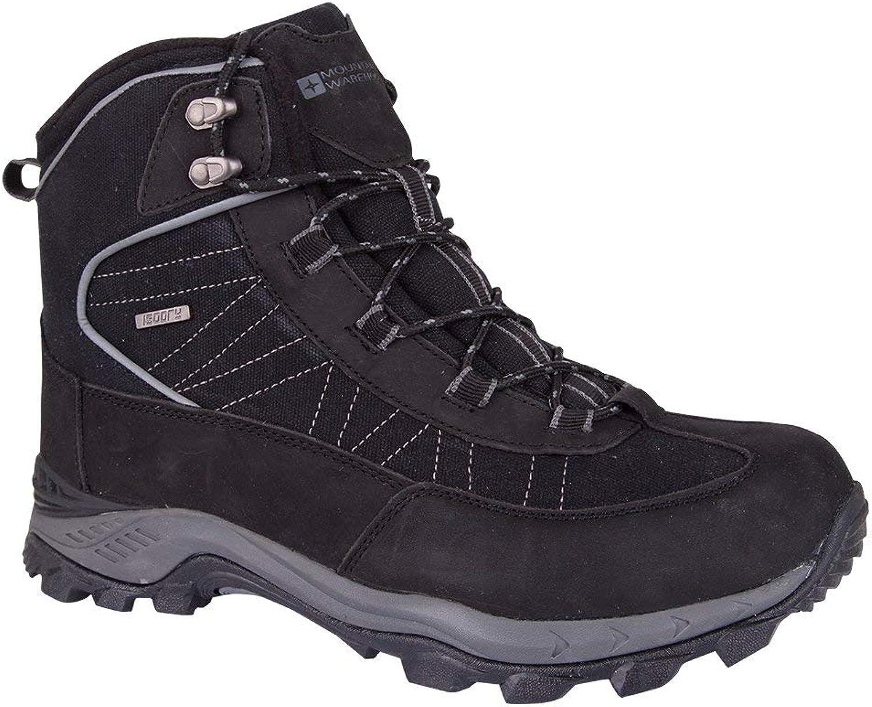 Mountain Warehouse Boulder Mens Winter Waterproof Hiking Boots