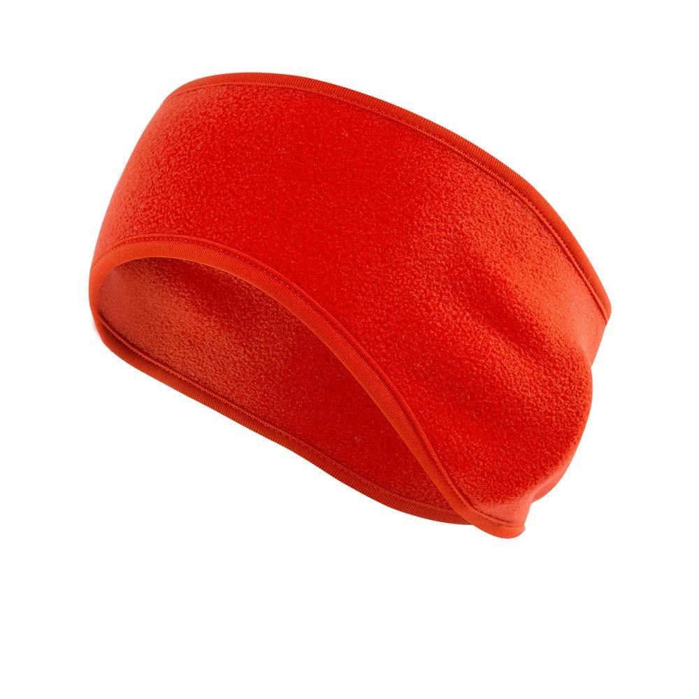 Sikye Running Headband Winter Ear Warmer Fleece Ski Head Band Moisture Wicking Sweatband Earmuffs