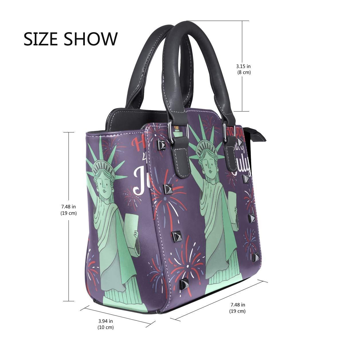 Purple Dolphins Genuine Leather Handbags Purses Shoulder Tote Satchel Bags Womens
