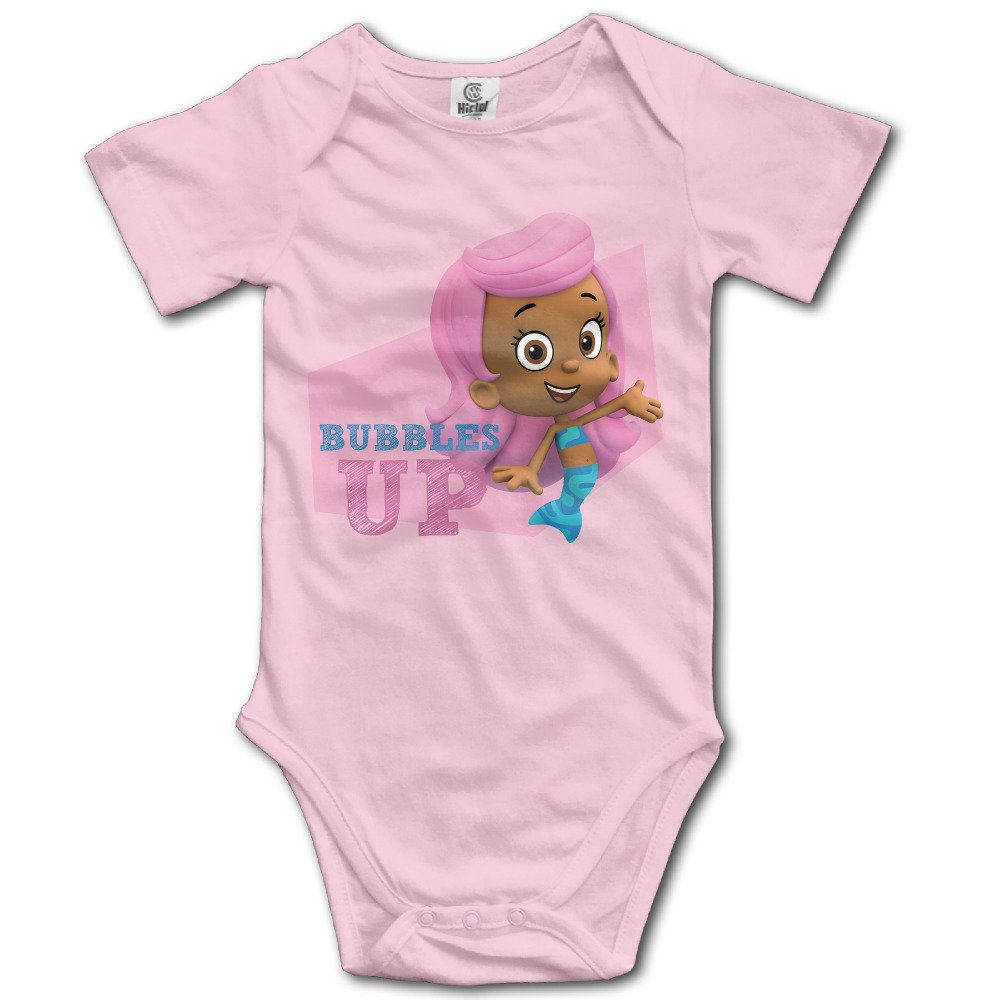 Molly Bubble Guppies Up Custom Baby Unisex Rompers Cotton
