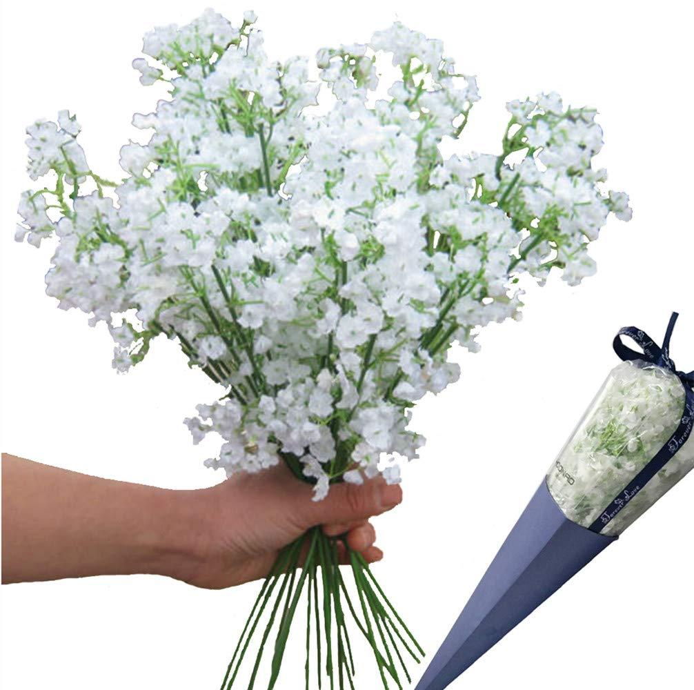Amazon 12pcs Artificial Flowers Gypsophila Babys Breath