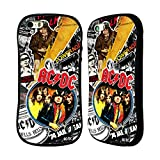 Official AC/DC ACDC Icons Collage Hybrid Case for Apple iPhone 5 / 5s / SE