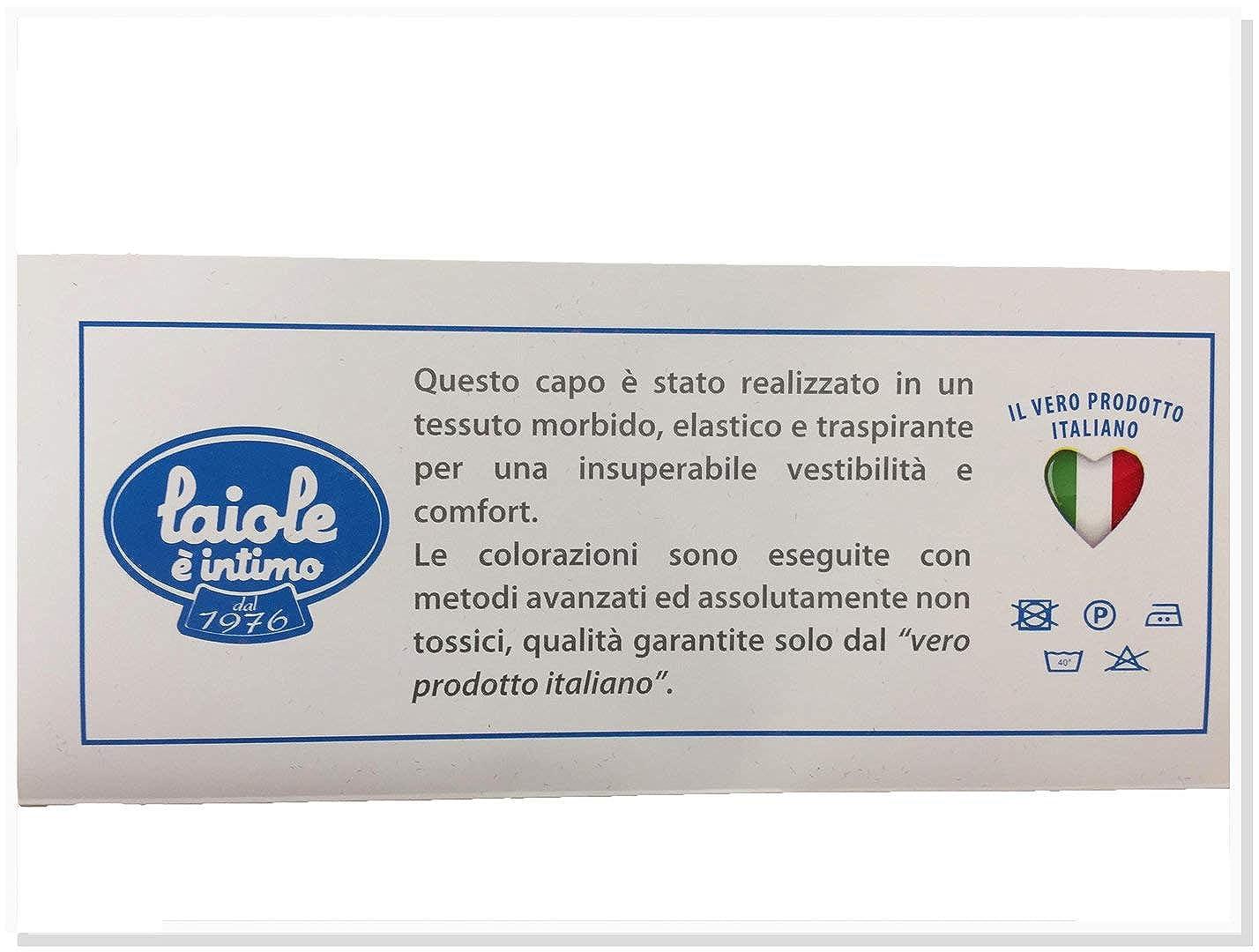 Leo Corsetteria Maglia Sottogiacca Donna Smanicato Lupetto Cotone Modal No Pizzi Aderente.T140