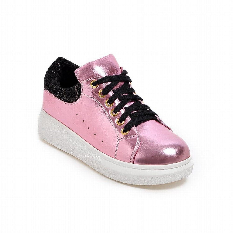 Latasa Women's Cute Lace-up Platform Shoes Oxfords Skate Shoes