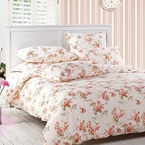 Sisbay girls vintage floral bedding rural red for Bride kitchen queen set