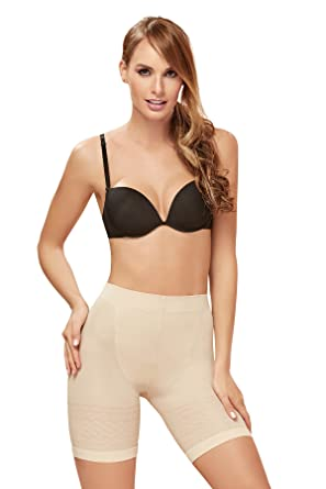 cd83524a4caf8 ShapEager Body Shaper Light Bodysuit Special Thermal Panty Shapewear Faja  at Amazon Women s Clothing store