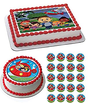 Astounding Home Garden Party Supplies Little Einsteins On Hill Edible Cake Funny Birthday Cards Online Inifofree Goldxyz