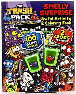 The Trash Pack Smelly Surprise Awful Activity & Coloring Book ...