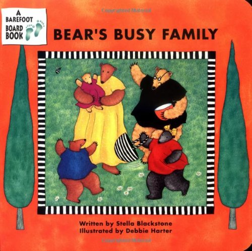Bear's Busy Family (A Barefoot Board Book) (Barefoot Bear)