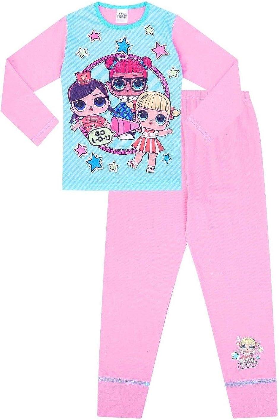 Pijamas Oficial LOL Surprise para Niñas Pj Go LOL Rosa Azul 30185