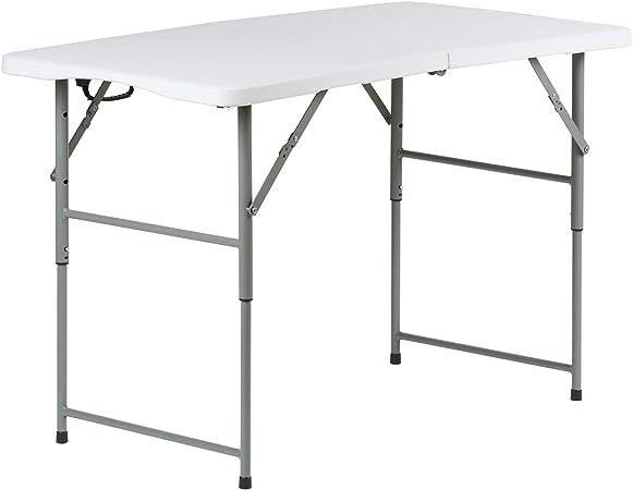Tavoli Pieghevoli Da Mercatino.Hartleys Tavolo Pieghevole 120 Cm Mercatino Baule Campeggio Buffet