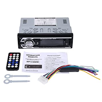 Autoradio, Acouto 12V Auto Audio Stereo Bluetooth FM Radio Auto MP3 ...