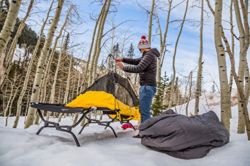 TETON Sports Outfitter XXL Camping Cot; Perfect for Base Camp and Hunting; Cots for Adults; Free Storage Bag Included by Teton Sports (Image #7)