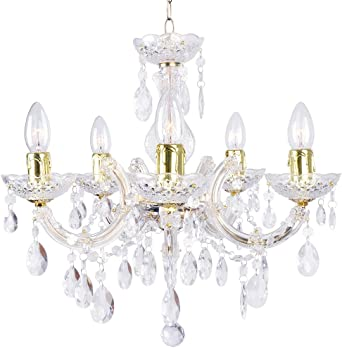 Marie Therese 12 Light Chandelier Gold | Litecraft Lighting Your Home