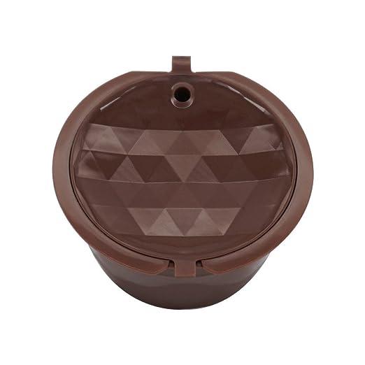 BOLANQ - 1 cápsula de café Recargable, Filtro Reutilizable para ...