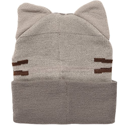 62a61f9b7b0 Jual Isaac Morris Pusheen Smiling with Ears Adult Beanie Hat ...