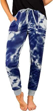 NIMIN Womens Joggers Sweatpants Drawstrings High Waisted Yoga Jogger Pants
