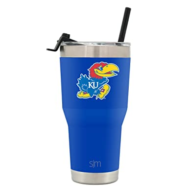 Simple Modern Collegiate Cruiser Tumblers - Vacuum Insulated 18/8 Stainless Steel University Travel Mug - Coffee Cup Tailgate Flask