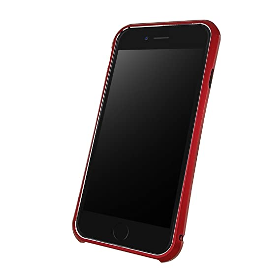 cheaper 0d739 61a70 DRACO Design Tigris 6 Plus Aluminum Bumper Case for iPhone 6/6S Plus -  Carrying Case - Retail Packaging - Flare Red