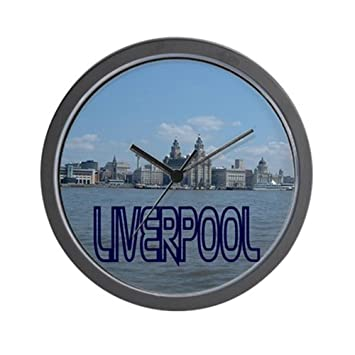 Amazon.com: CafePress – Scenic Liverpool (Color Azul ...