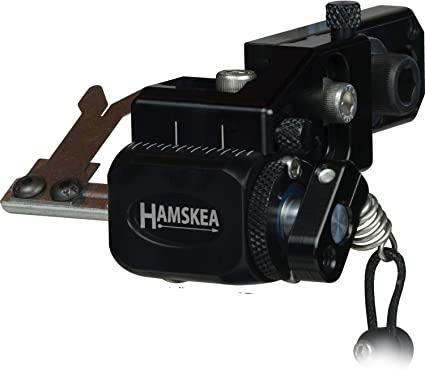 RH-All Black Hamskea Hybrid Hunter Pro Micro Tune Archery Arrow Rest