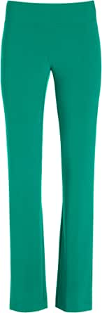 Boston Proper – Beyond Travel Plus Size Pull On Straight-Leg Pants for Women – Wrinkle Resistant