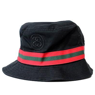 c41a5cdac07 STUSSY (ステューシー)  ユニセックス  バケットハット リンクバンド ロゴ 刺繍 ハット 帽子