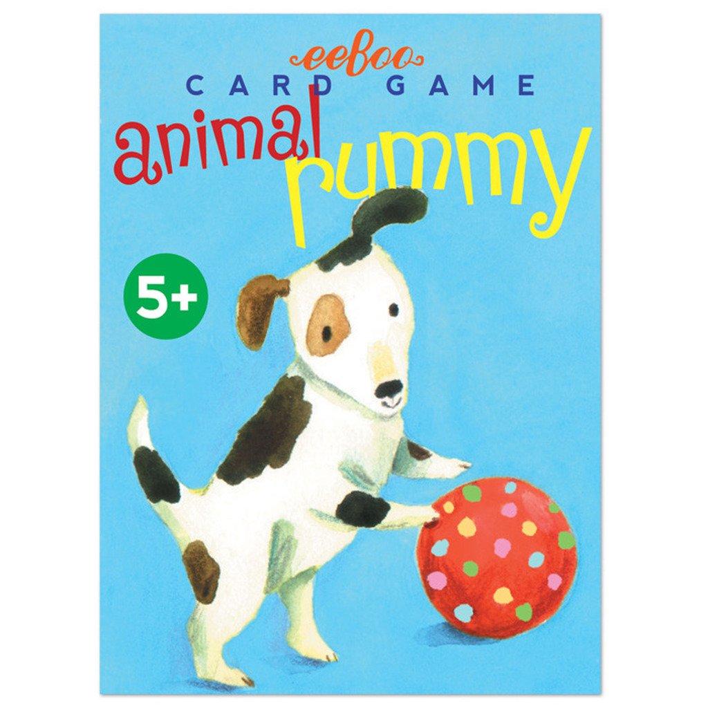 EEBOO Animal Rummy Playing Cards 1 EA EB-PCAR3