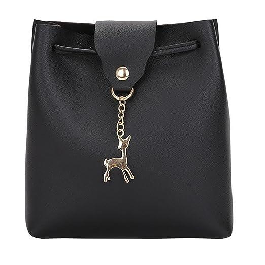 2c1fcea95e6a KONFA Crossbody Bags For Women, Ladies Teen Girls Solid Color ...