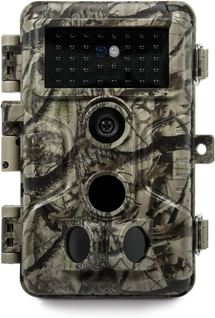Meidase P20 Trail Camera 18MP 1080P, H.264 HD Video, 82ft No Glow Infrared Night Vision, Fast 0.1s Trigger Time Motion Activated, 82ft Motion Detection for Wildlife Game Trail, Outdoor Deer Hunting
