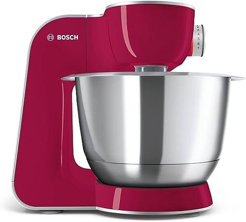 Bosch MUM58420 CreationLine Robot de cocina, 1000 W, 3.9 litros de capacidad, color rojo burdeos: Bosch: Amazon.es: Hogar