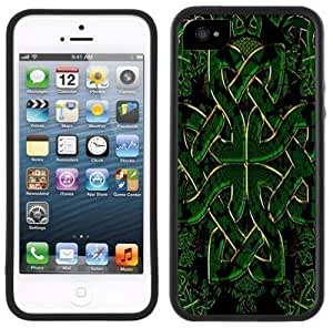 New Style Celtic Cross Handmade iPhone 5 5S Black Case
