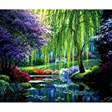 Arts & Crafts : DIY Diamond 5D Embroidery Paintings Rhinestone Pasted diy 30x40cm Christmas painting Cross Stitch