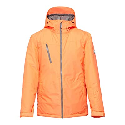 DC Men's Blitz Jacket Shocking Orange Outerwear XL: Clothing