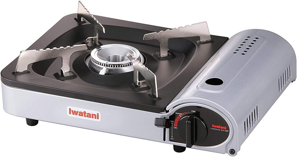 Iwatani Corporation of America Iwatani of America ZA-3HP Portable Butane Stove Burner, one size, Metallic