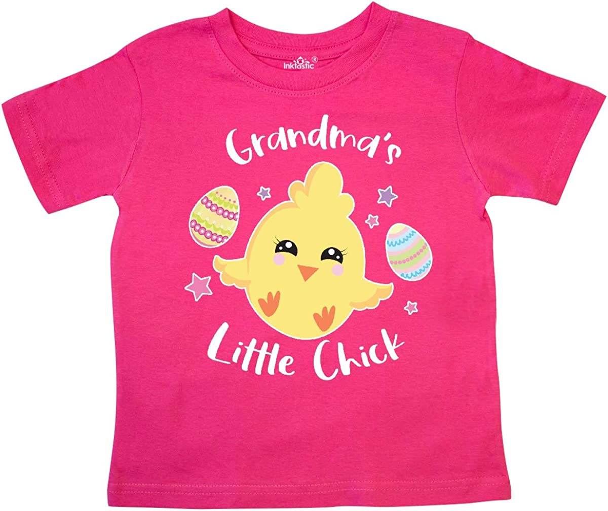 inktastic Happy Easter Grandmas Little Chick Toddler T-Shirt