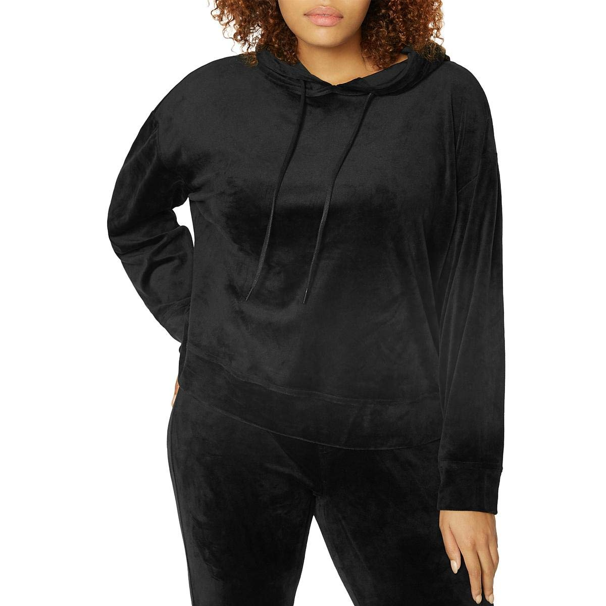 Sanctuary Women's Melrose Brigade Velour Hoodie Sweatshirt