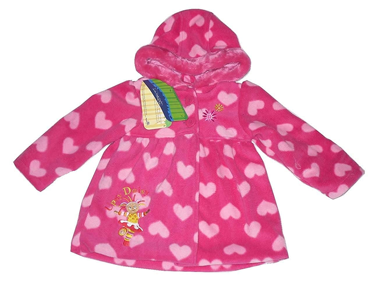 In the Night Garden Girls Coat Fleece Jacket Upsy Daisy