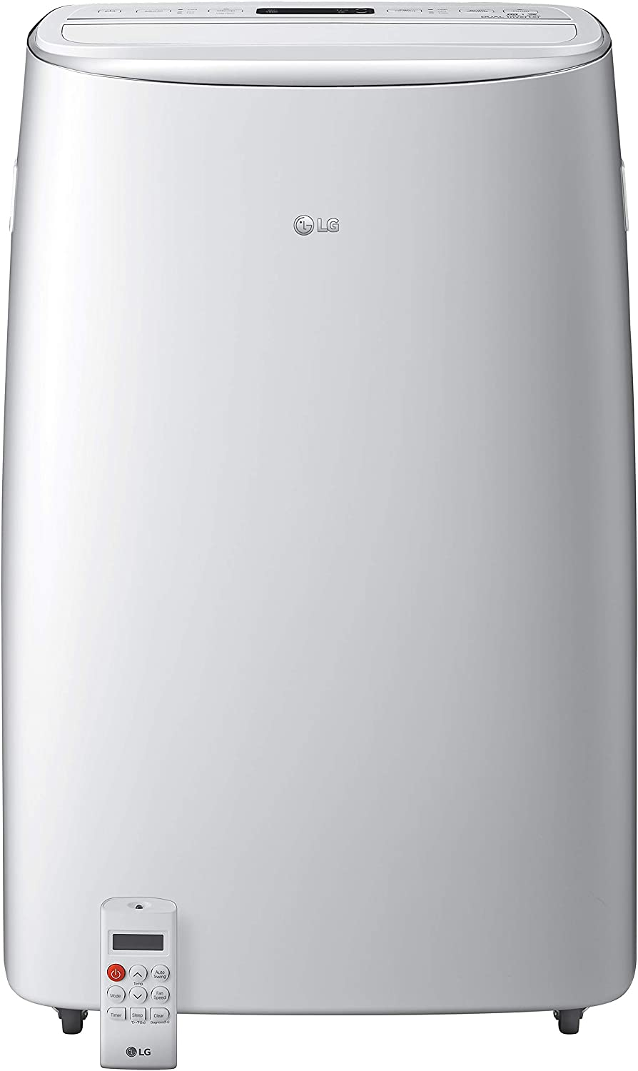 LG 115V Dual Inverter Technology Portable Air Conditioner, White