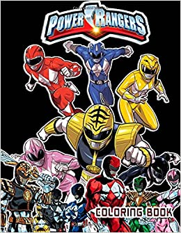 Amazon Power Rangers Coloring Book Great Pages For Fans 9781979032056 Calvin Storm Books