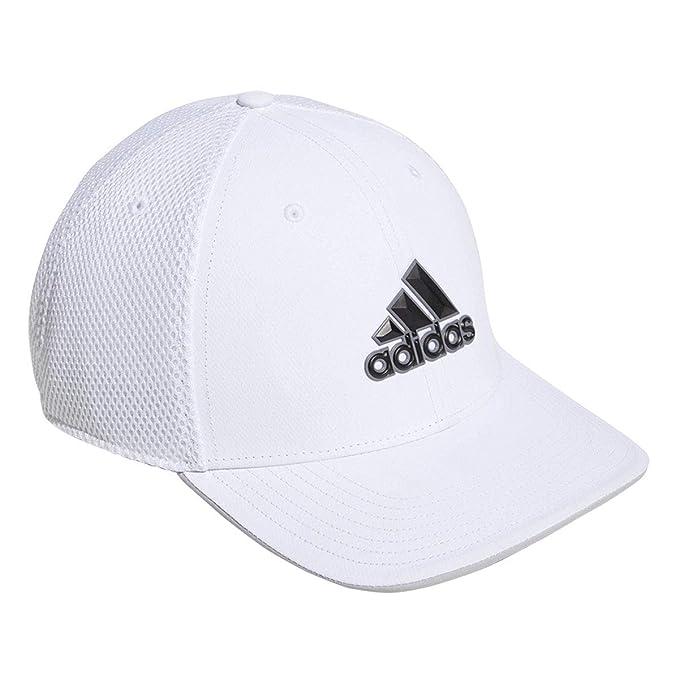adidas Golf da Uomo 2019 A-Stretch Tour Cappello - Bianco a4cc908d3959