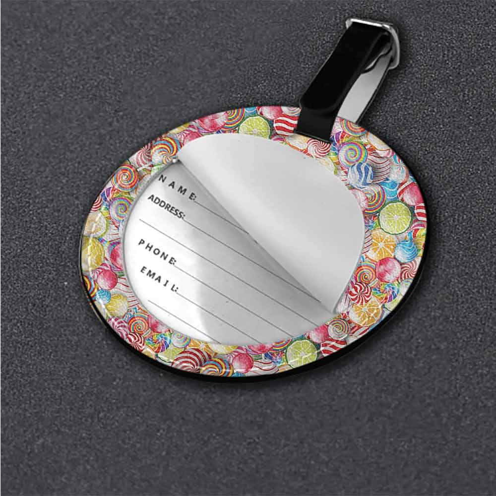 Boarding Tags Colorful,Teapots Berries Tea Mints Cute Novelty