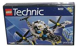 "Lego 8222 Technic V-TOL Double Prop Buggy Plane 1997 ""Tech Play"" Set"