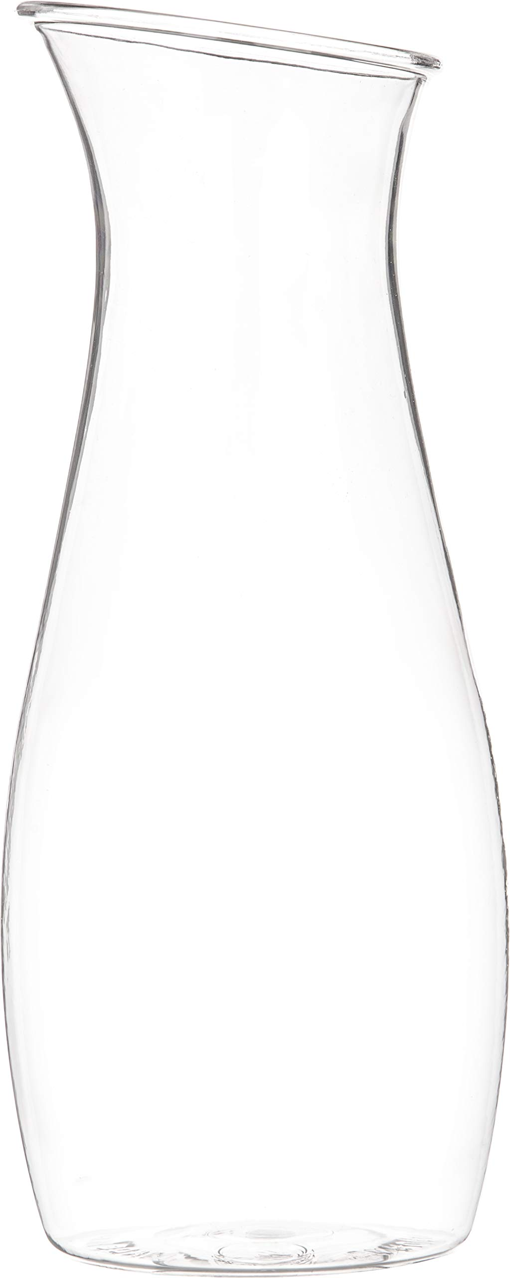 Carlisle 7090207 Cascata Carafe Juice Jar Beverage Decanter Only, Plastic, 1 L, Clear by Carlisle (Image #2)