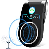 Aigital [Versión Español] Bluetooth Manos Libres Coche Kit