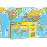 Amazon ravensburger political world map jigsaw puzzle 500 round world products world map puzzle 500 pieces gumiabroncs Gallery
