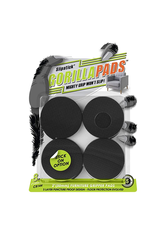 "GorillaPads Non Slip Furniture Pads (2"" Round)"