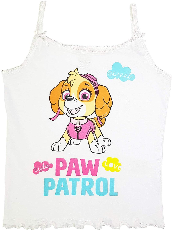 Paw Patrol M/ädchen Unterhemden mit Spaghettitr/äger 2er Pack